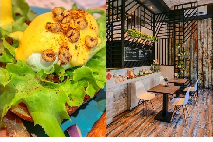 台中北屯早午餐 | 找晨手作輕食料理(北屯兒童公園店),歐式裝潢,餐點好吃用料實在,有質感的早午餐店。