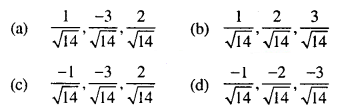 Maths MCQs for Class 12 with Answers Chapter 11 Three Dimensional Geometry Q2