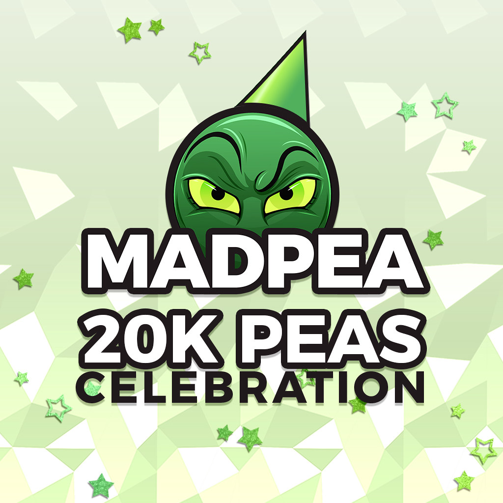 MADPEA 20K PEAS CELEBRATION!