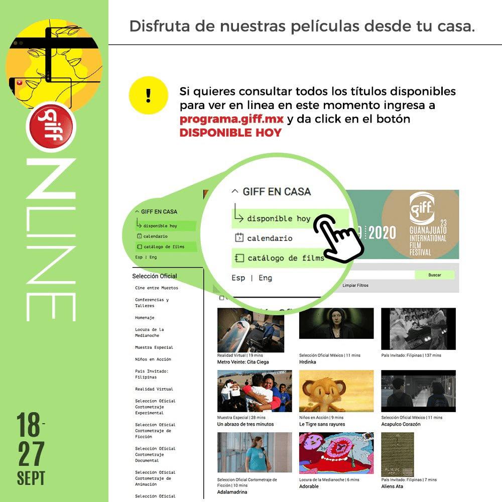 El Festival Internacional de Cine Guanajuato 4