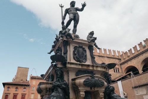 Fountain of Neptune  @ Piazza Maggiore, Bologna, Italy