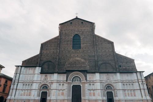 Basilica of San Petronio @ Piazza Maggiore, Bologna, Italy