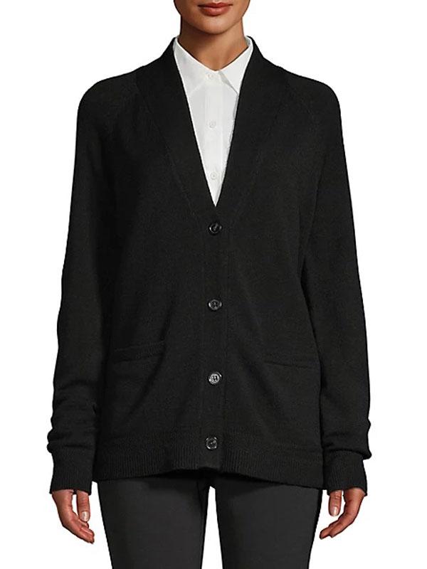 imnyc-isaac-mizrahi-the-bay-v-neck-chevron-trim-cardigan