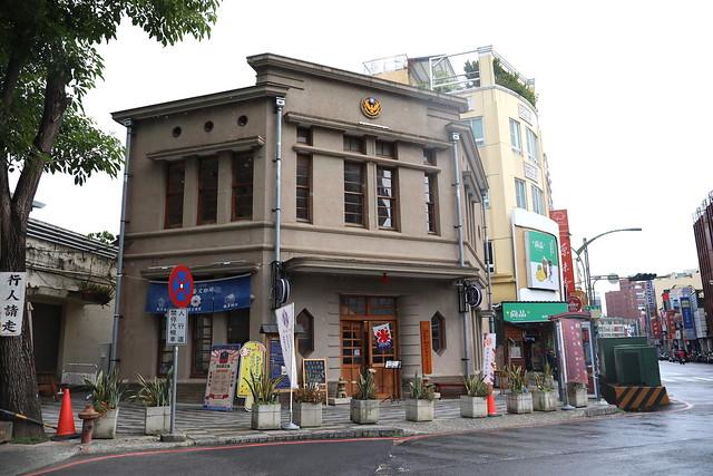 舊名為葫蘆墩的豐原/頂街派出所A.D1936藝文咖啡