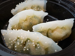 Shrimp Dumplings from Bing Bing Dim Sum