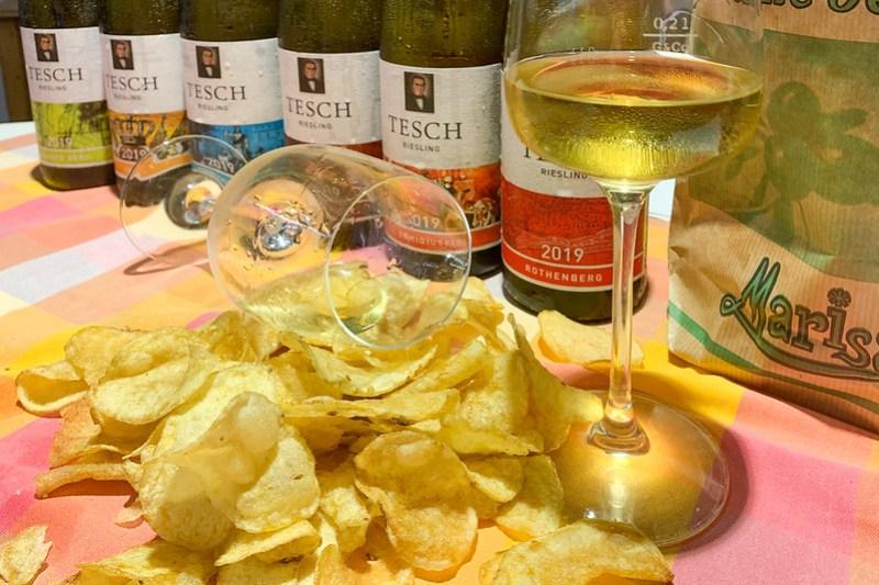 Am Ende einer Weinprobe