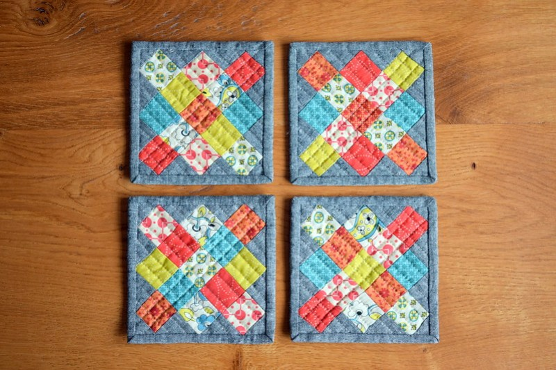 Granny Square Coasters Tutorial
