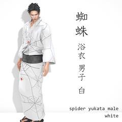 [r-l-f]+*NAMINOKE*Spider Yukata Male
