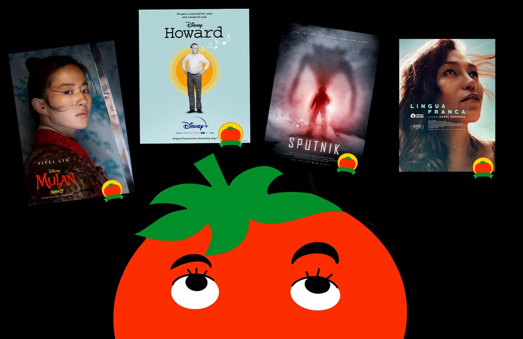 retrospective on all the rotten tomatoes certified fresh movies she watched over the past month