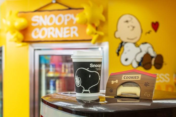 於指定概念店購買7Café即磨咖啡即免費送你牛油曲奇同步推出Snoopy特別版7Café紙杯