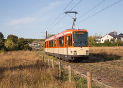 Modern Strassenbahn romantik