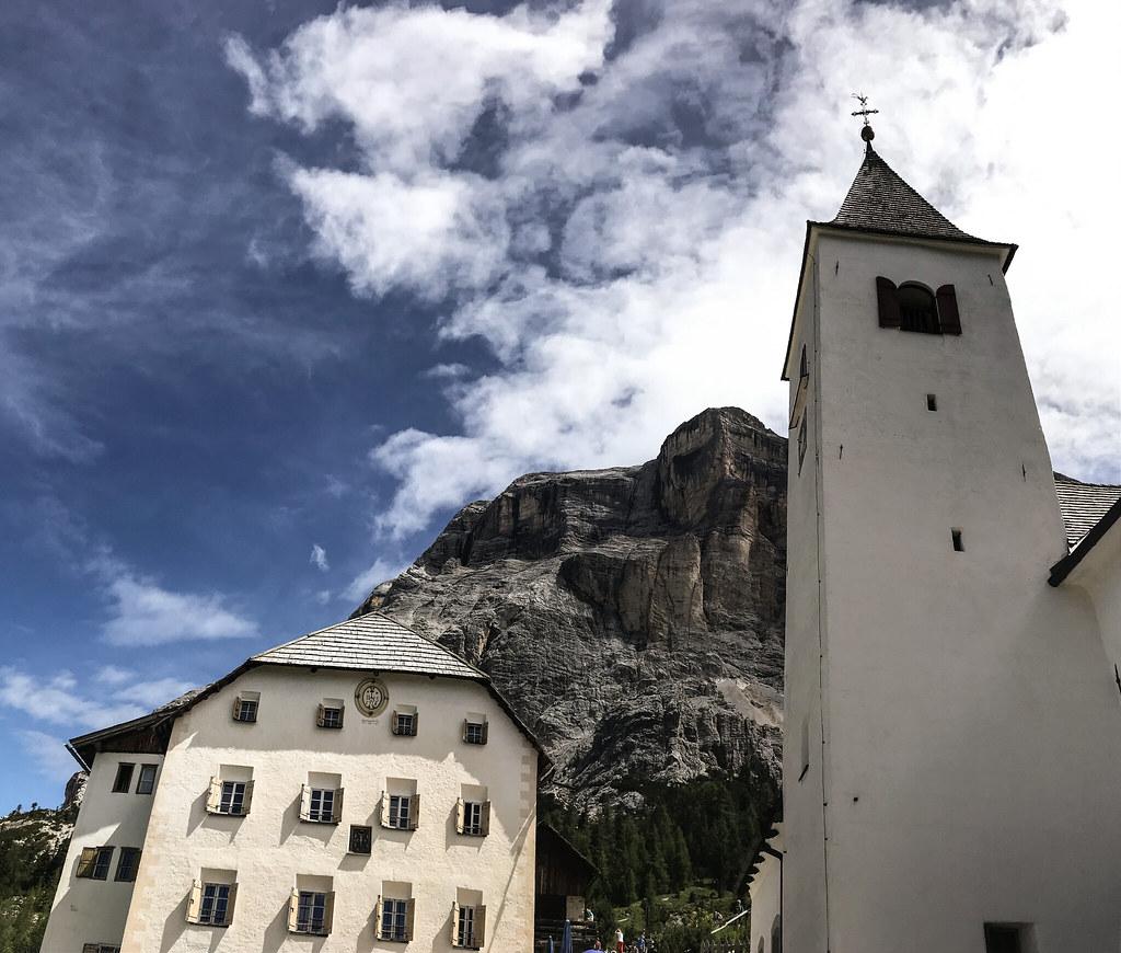 Santuario La Crusc, Alta Badia