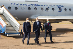 Expedition 64 Arrival in Baikonur (NHQ202009270005)