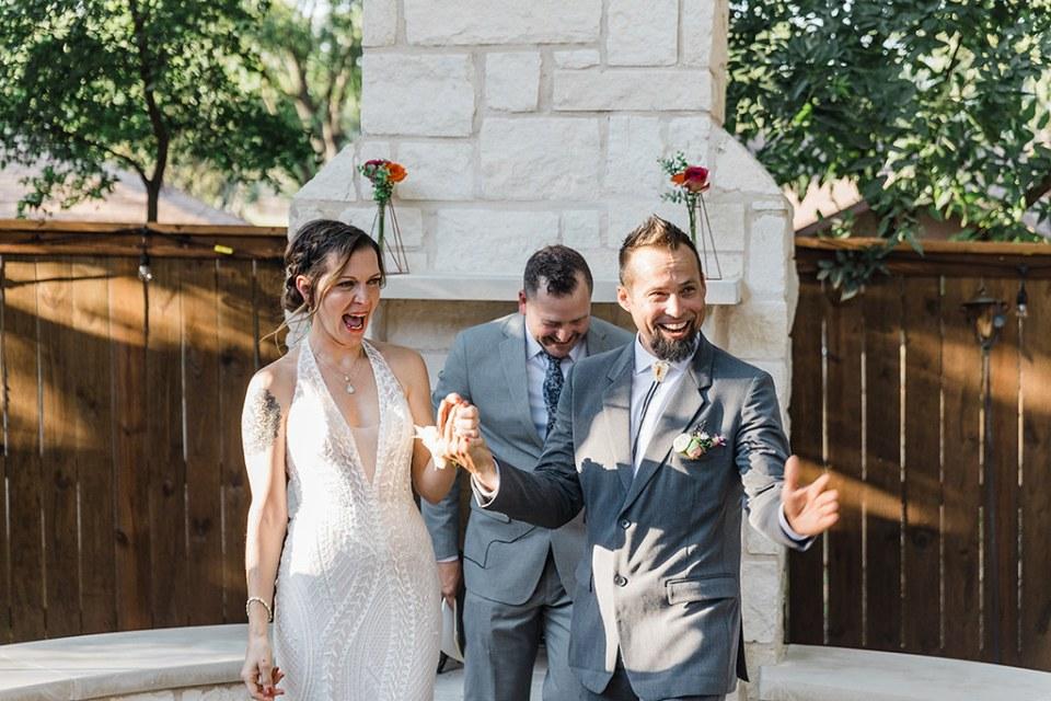 Dallas Backyard Wedding Photographer