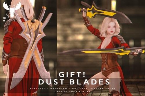 -MUSU- Dustblade @ Shop & Hop - Gift!