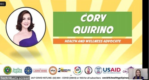 Organique Partners with DOH Cory Quirino