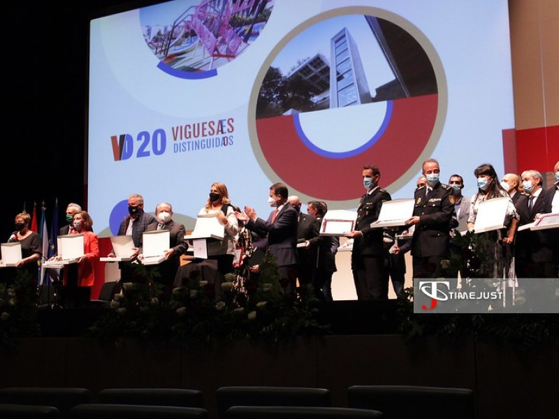 Gala Viguesas y Vigueses Distinguidos 2020