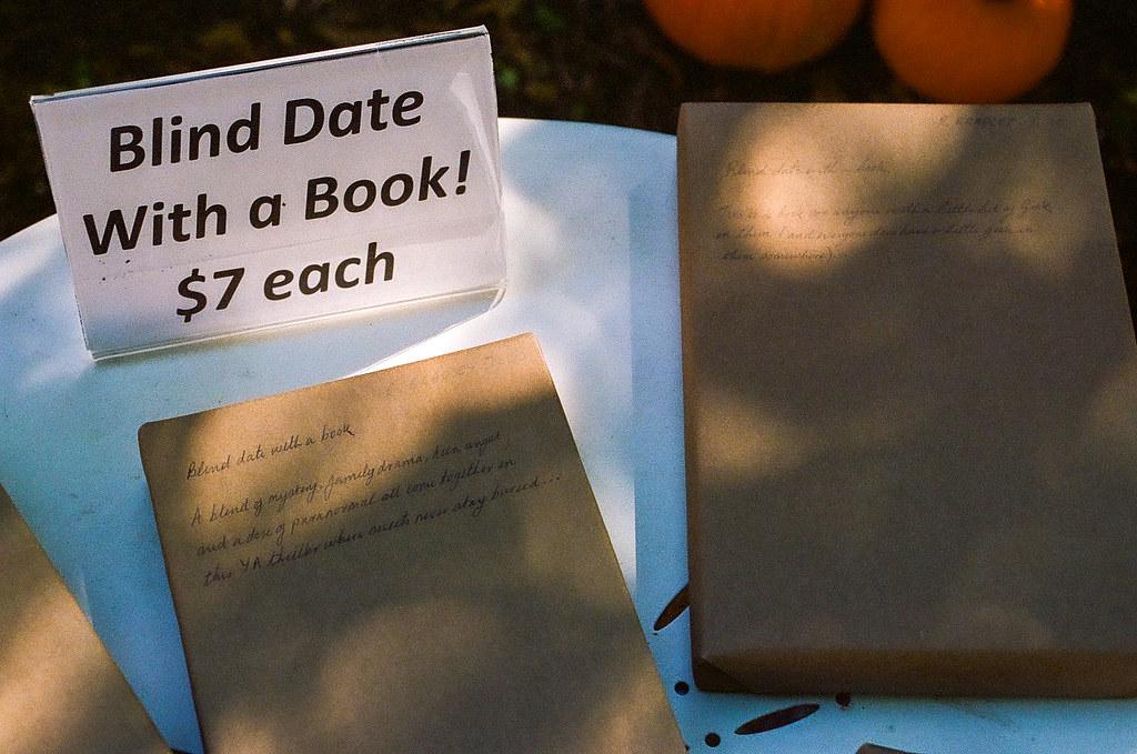 Book blind date