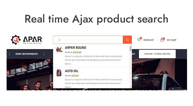 Search Ajax