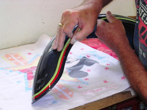 Adding Red Stripe To Front Fender