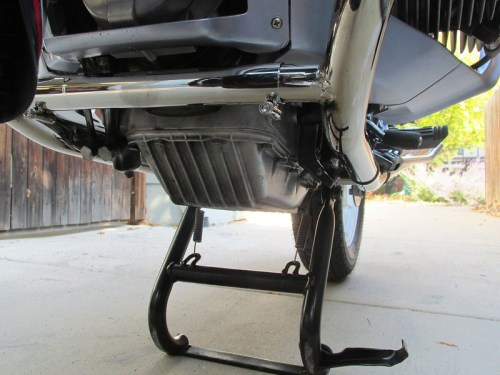 Oil Pan & Center Stand