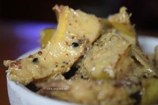 Ouu Khata in a mustard gravy