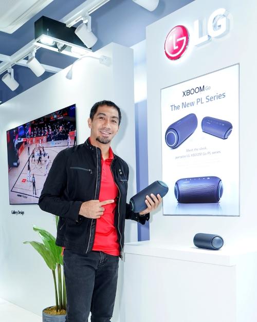 LA Tenorio for LG OLED Sports Experience