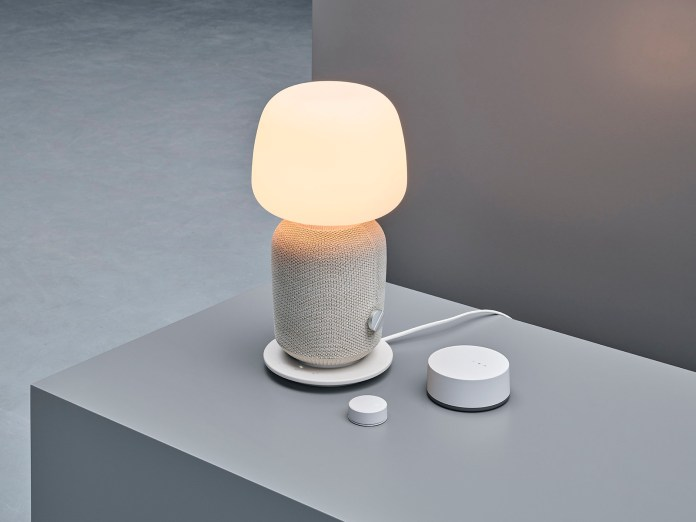 IKEA X SONOS SYMFONISK Table Lamp with WiFi Speaker White  座檯燈連Wi-Fi喇叭 白色 (11)