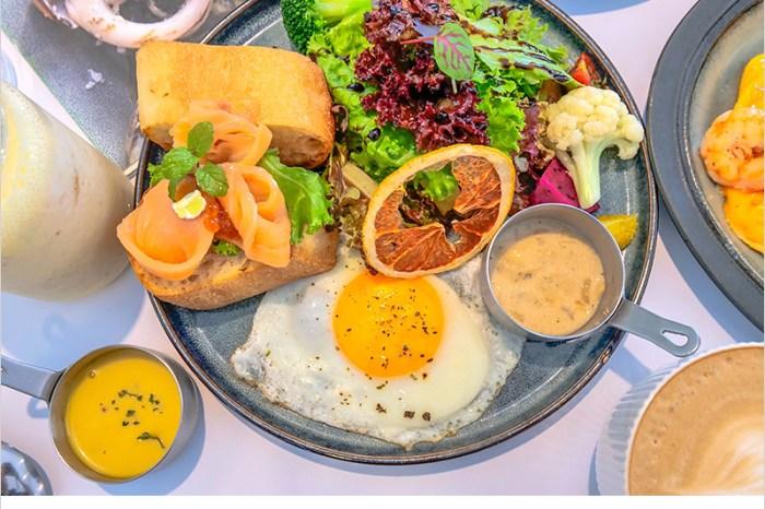 台中西區早午餐   Giocoso pasta&caf'e 精誠商圈白色系裝潢雅緻好拍照,食材鮮美,餐點口味好吃,服務也很親切呦。