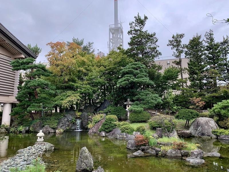 棟方志功記念館 庭