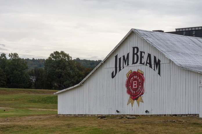 The Jim Beam barn