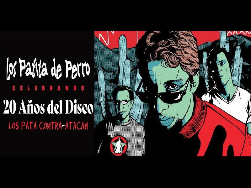 20 AÑOS DEL DISCO - LOS PATA CONTRA-ATACAN