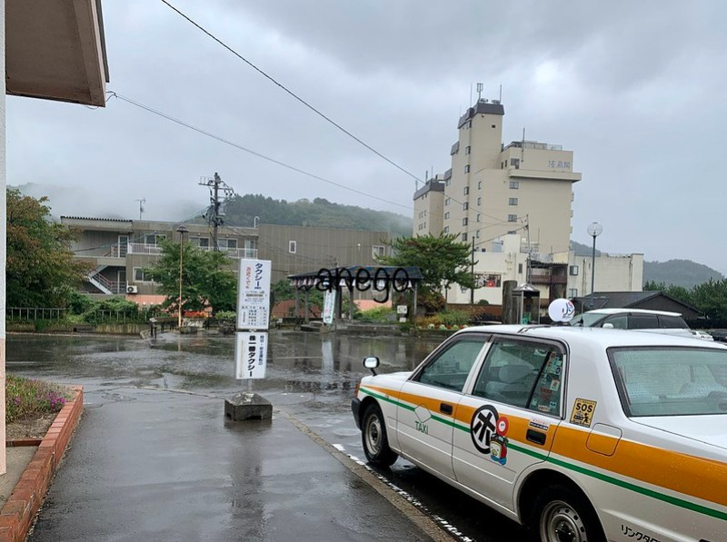 青い森鉄道 浅虫温泉駅 タクシー