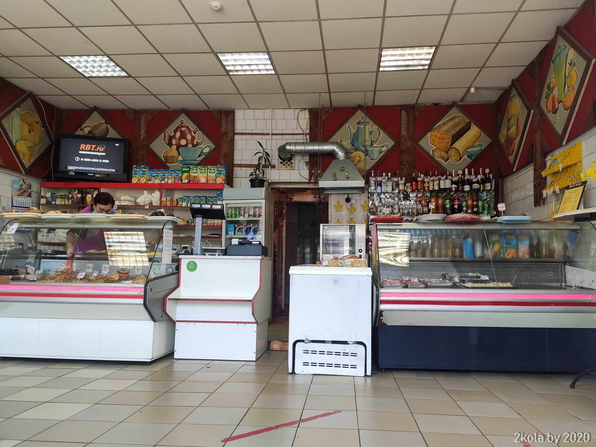 Кафе центральное в г. Гдов