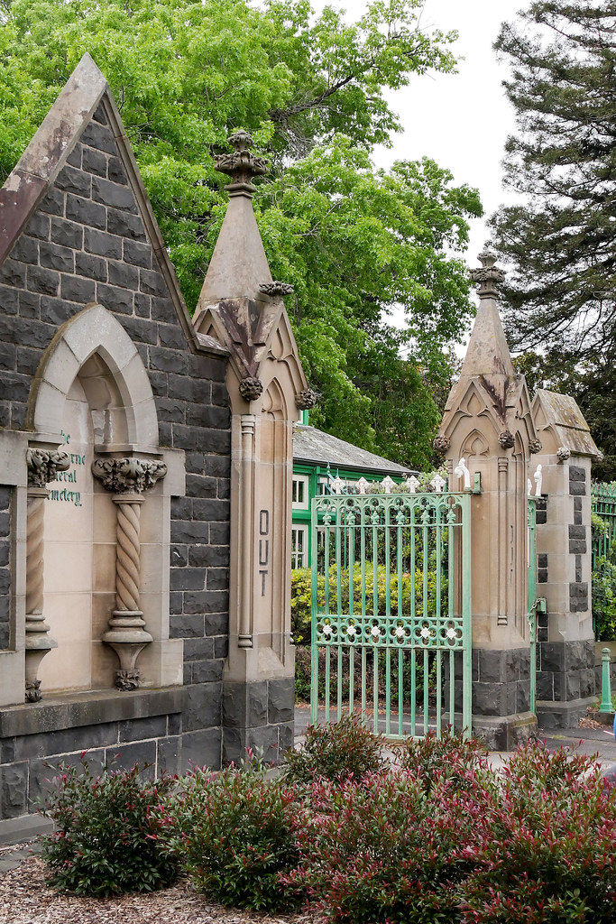 MELBOURNE GENERAL CEMETERY, MELBOURNE :copyright: