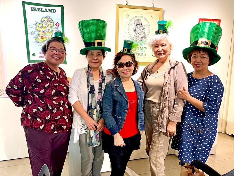 元智樂齡學員開心體驗愛爾蘭文化