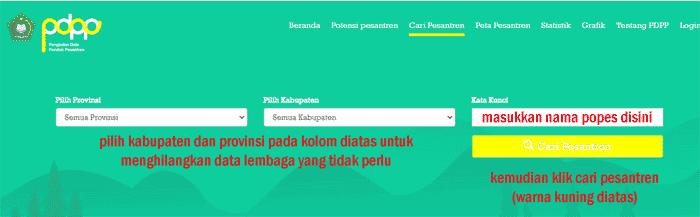 cek-nspp-pondok-pesantren-online