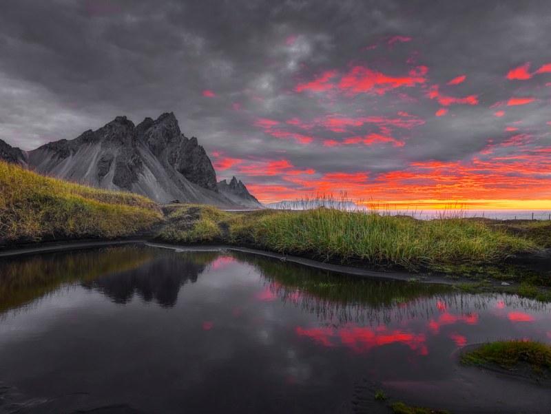 Vestrahorn sunrise
