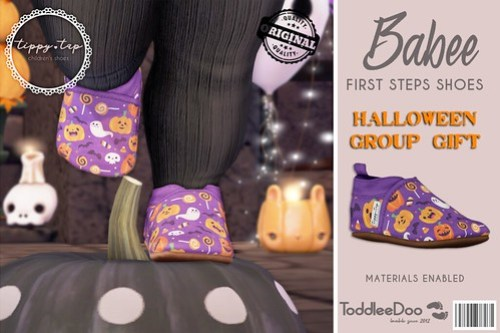Tippy Tap - Babee First Step Shoes Halloween Version