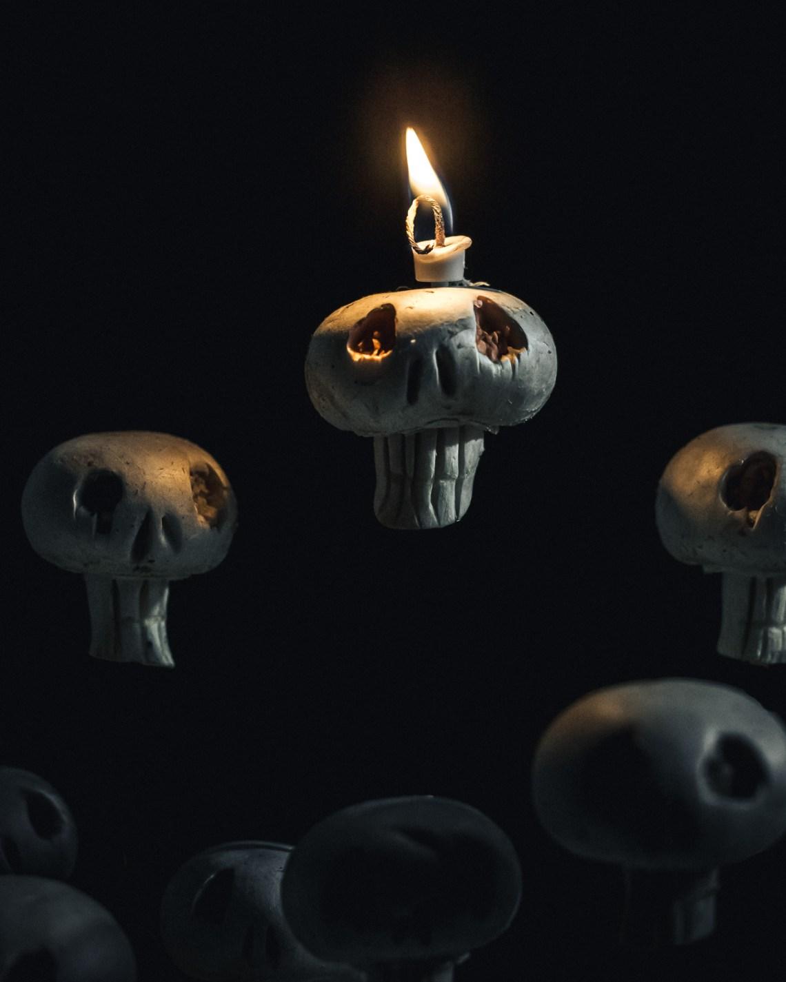 herkkusieni halloween