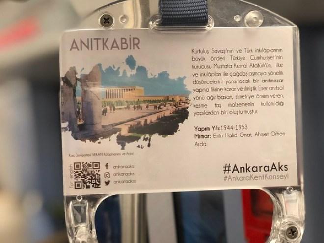 Ankara AKS, Ankara Metrosunda