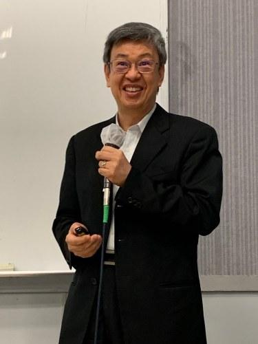 陳建仁前副總統