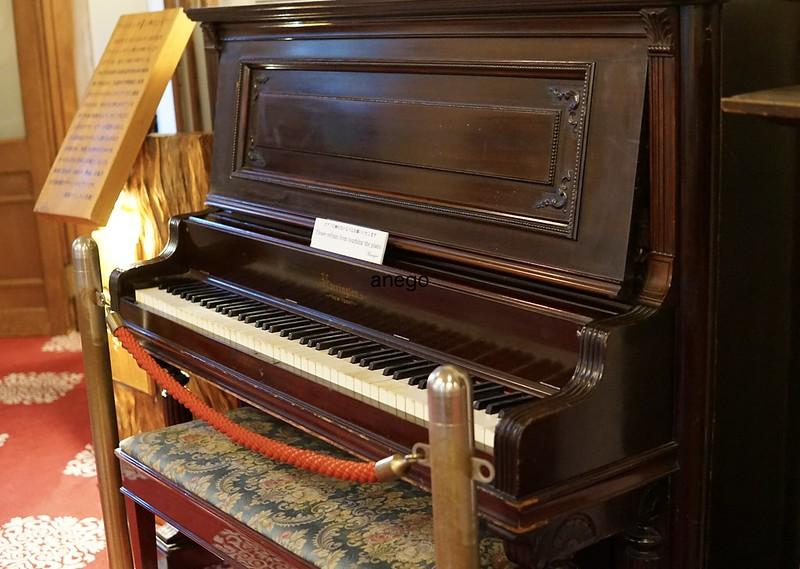 奈良ホテル アインシュタインのピアノ
