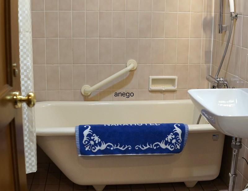 奈良ホテル バスルーム