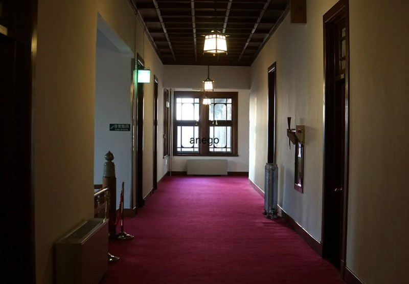 奈良ホテル 廊下