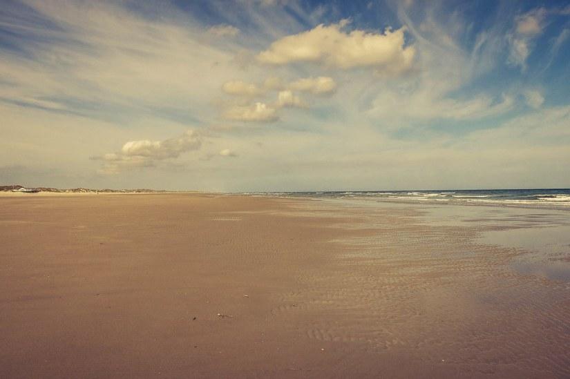 Leeg Terschellinger strand