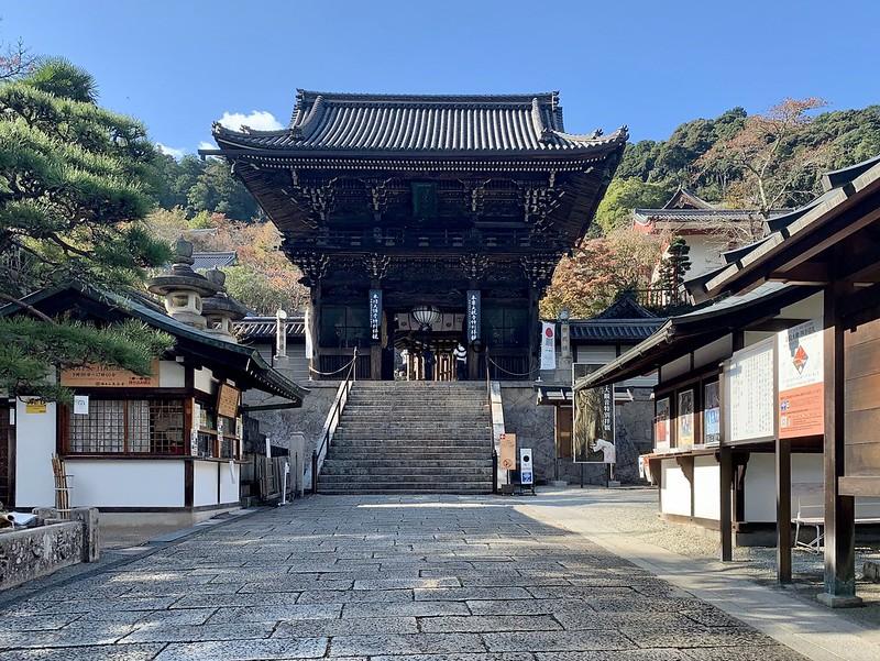 長谷寺 門