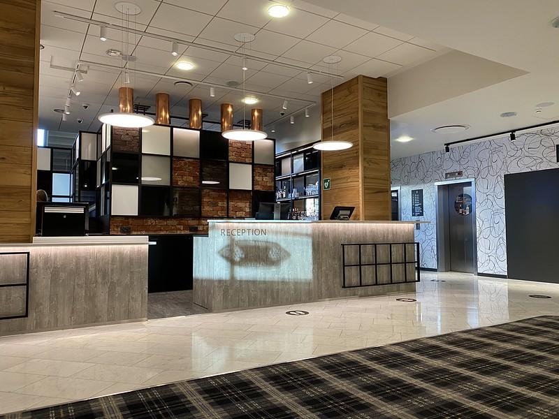 Hotelli Scandic Pasilan vastaanotto