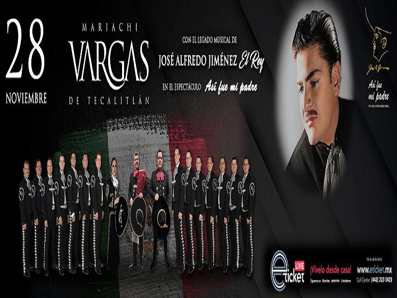 2020.11.28 MARIACHI VARGAS DE TECALITLÁN Y EL LEGADO MUSICAL DE JOSÉ ALFREDO JIMÉNEZ