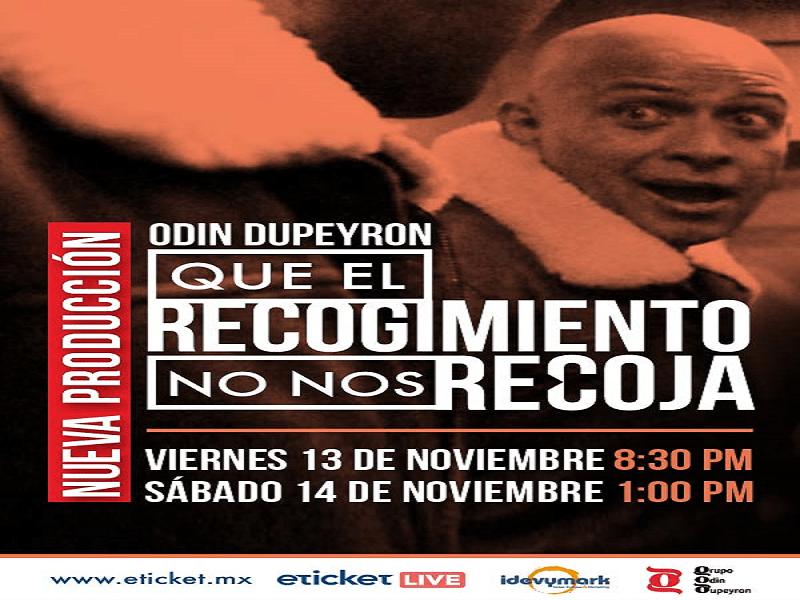 2020.11.14 QUE EL RECOGIMIENTO NO NOS RECOJA